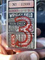 1932 World Series Game 3 Ticket Stub Yankees Ruth Called Shot