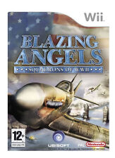 NINTENDO Wii BLAZING ANGELS SQUADRONS OF WW11 ALL COMPLETE