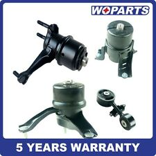 Engine Motor Transmission Mount Set 4 Fit for TOYOTA Camry 2.4L 02-06 Auto Trans