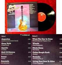 LP Denny Motion (Guitar) & His Orchestra: King of Guitar (Telefunken 623 635 AF)