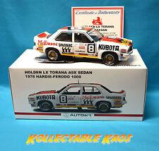 1:18 Biante - 1978 Bathurst 1000 - Holden LX Torana A9X - Brabham/Muir - NEW