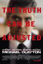 MICHAEL CLAYTON Movie POSTER 27x40 George Clooney Tom Wilkinson Tilda Swinton