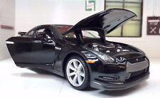 G LGB 1:24 Escala negro Nissan GT-R R35 3.8 V6 DETALLADO Maisto