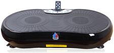 REBOXED Gym Master Slim Crazy Fit Vibration Massage Power Plate Machine in Black