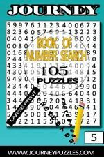 Journey Number Search Puzzles: Number Search Puzzles: 105 Puzzles in Large...
