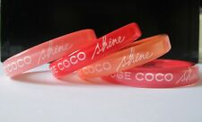 CHANEL LOT 4 BRACELETS ROUGE COCO SHINE