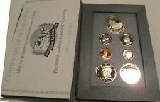 1991 Prestige Proof Set  U.S. Mint COA 7 coin Mount Rushmore Silver Dollar