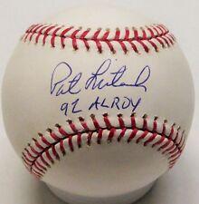 "Brewers PAT LISTACH Signed MLB Baseball AUTO w/ ""'92 AL ROY"""