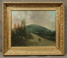 Oil Painting of a Summer Landscape signed Dwight Frederick Boyden (American)
