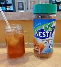 Nestea Unsweetened Instant Iced Tea Mix 100% Tea 3 Oz Sealed Exp. 10-22-2020