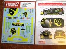 DECAL: 1/24 S271106 2014 MONSTER FORD FIESTA WRC MONZA ROSSI
