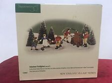 Dept 56 Volunteer Firefighters #56635 Set of 2 Collectible-New in Box