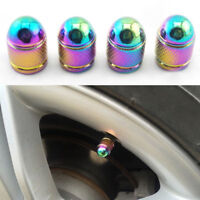 4Pcs Alloy Car Truck Wheel Tire Tyre Air Valve Stem Caps Anti-Dust Cover