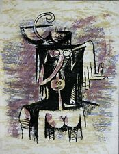 Wilfredo LAM - Lithographie lithograph from XXe Siècle No 43 - 1974 *