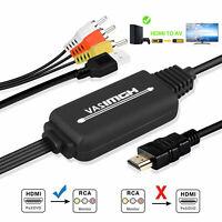 1080P HDMI to 3 RCA AV Video Audio Cable Converter For HDTV TV Box PS4 DVD XBOX