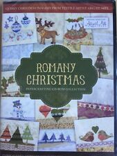 Romany Christmas Papercrafting CD-Rom - Abigail Mill - Christmas Card Printouts