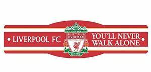 "Liverpool FC Premier League 4"" x 17"" Street Sign Futbol"