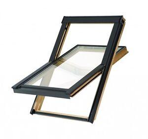 BALIO Dachfenster 66x112 mit Eindeckrahmen
