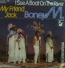 "7"" 1980 VG++ BONEY M. Boat On The River + My Friend Jack"