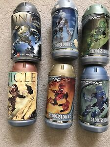 LEGO Technic Bionicle Lot of 4 sets 8531 8532 8533 8534 Cannisters plus more