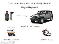 Plug-N-Play Remote Starter for Jeep - DB3 & THCHD2 -uses your factory remotes