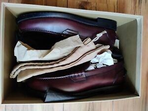 Burberry Men's Shoes size 45 or 11UK Style Bedmont, colour Bordeaux