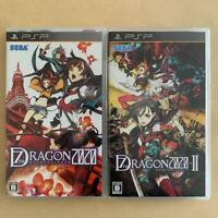 PSP 7th Dragon 2020 I & II set Japan PlayStation Portable