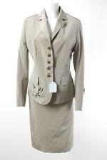 STIFF Kostüm Gr. 42 Baumwolle Damen Blazer Hose Jacket Pants Business Suit