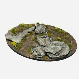 Alpine Pass Pre-painted Scenic Wargame Bases (various sizes)