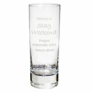 Personalised Engraved Shot Glass Gift