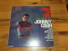 Ring of Fire the Best of Johnny Cash 1963 Columbia LP Record