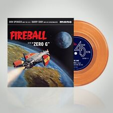 "Barry Gray / Don Spencer: Fireball XL5 TV Soundtrack Orange Vinyl 7"" (PRE-ORDER)"