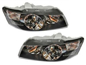 Genuine Holden WK WL Head Lights Pair Caprice Left/Right Black HSV Grange GMH NO