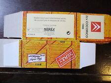 BOITE VIDE NOREV  CITROEN 2CV  COCORICO 1986  EMPTY BOX CAJA VACCIA