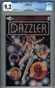 Dazzler #1 CGC 9.2 NM- 1st Direct Distribution Comic by Marvel WHITE PAGES