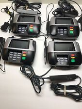4 Verifone Point Of Sale Credit Card Terminal Mx860 W/ 3 Power adapters