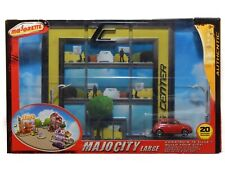 Majocity Large with Fiat 500 Majorette 286C Diorama 1/64 with 20 Accessories