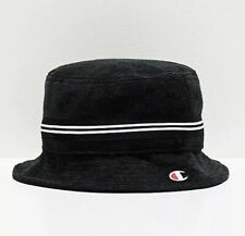 Champion Black French Terry Cloth Bucket Hat- Size L/XL