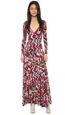 Rachel Pally Long Sleeve Maxi Wrap Dress - Sz S 'Solstice' Beautiful & NWT