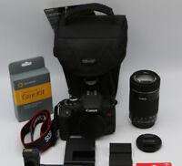 Canon EOS Rebel T6i DSLR Camera with EF-S 55-250mm f/4-5.6 IS STM Lens
