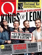 Q Magazine Oct 2013 KINGS OF LEON SUGABABES KRAFTWERK FLEETWOOD MAC BOY GEORGE