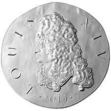 France 2014 Louis XIV The Sun King From Clovis to Republic Silver Proof COA