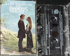 MARK KNOPFLER THE PRINCESS BRIDE SOUNDTRACK CASSETTE ALBUM