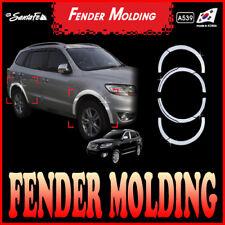 Chrome Fender Wheel Molding Trim 10p for 2010 2012 Hyundai Santa Fe