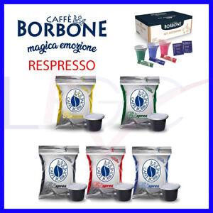 Caffè Borbone per Nespresso Miscela BLU NERO ORO ROSSO Compatibili con Macchine