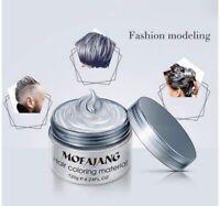 MOFAJANG 9 Colours Unisex Hair Colours Wax Mud Dye Styling Cream DYE Coloring,UK