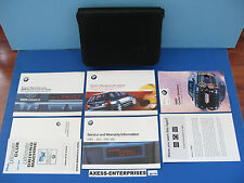 2001 BMW E46 325 i xi 325i 325xi Wagon Owners Manuals Driver Book Pouch Set M179