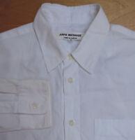 JUNYA WATANABE COMME DES GARCONS Classic White Long Sleeve 1 Pocket Shirt Small