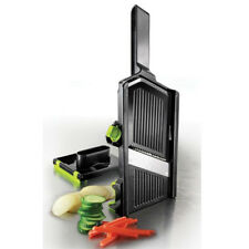 Simposh Mandolin Mandoline Slicer & Julienne: Adjustable Vegetable Slicer