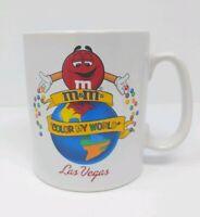 M&M 's World Las Vegas Coffee Mug Cup 2005 Color My World